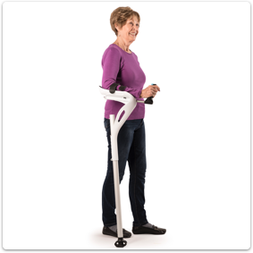 M+D Mobility+Designed Crutch Cane Alternative